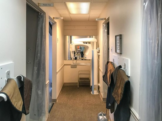 Our 4 hygiene rooms