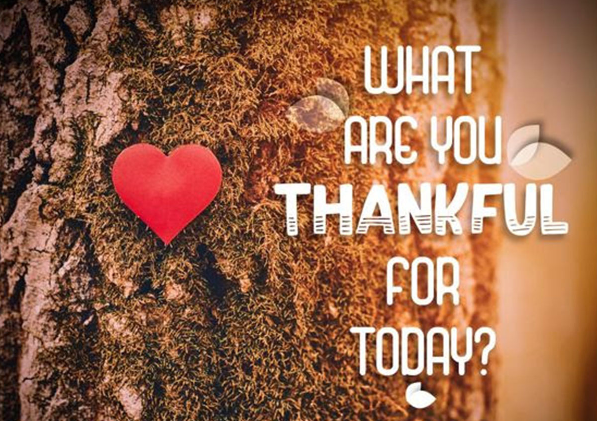 What are you thankful for today